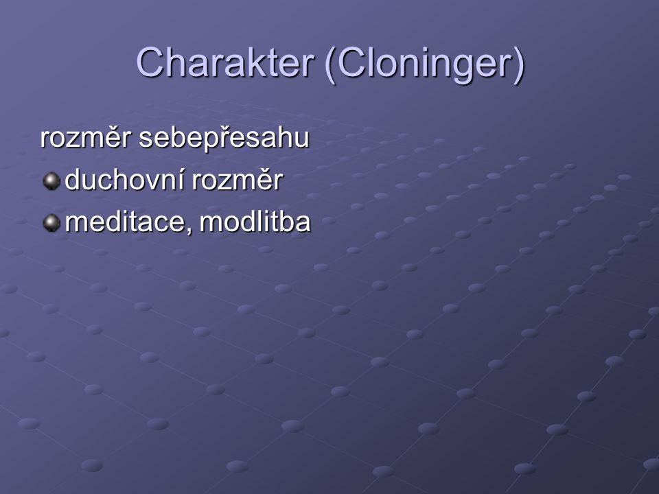 Charakter (Cloninger)