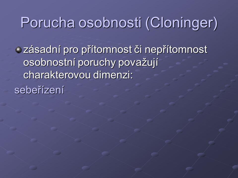 Porucha osobnosti (Cloninger)