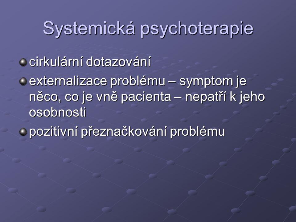 Systemická psychoterapie