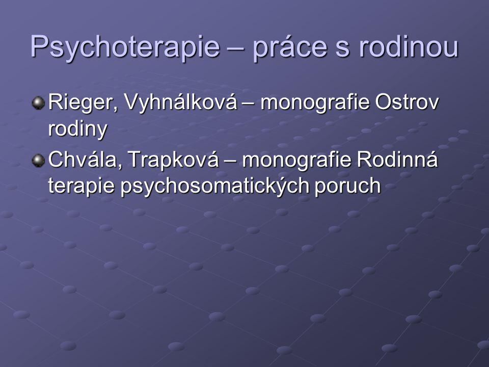 Psychoterapie – práce s rodinou