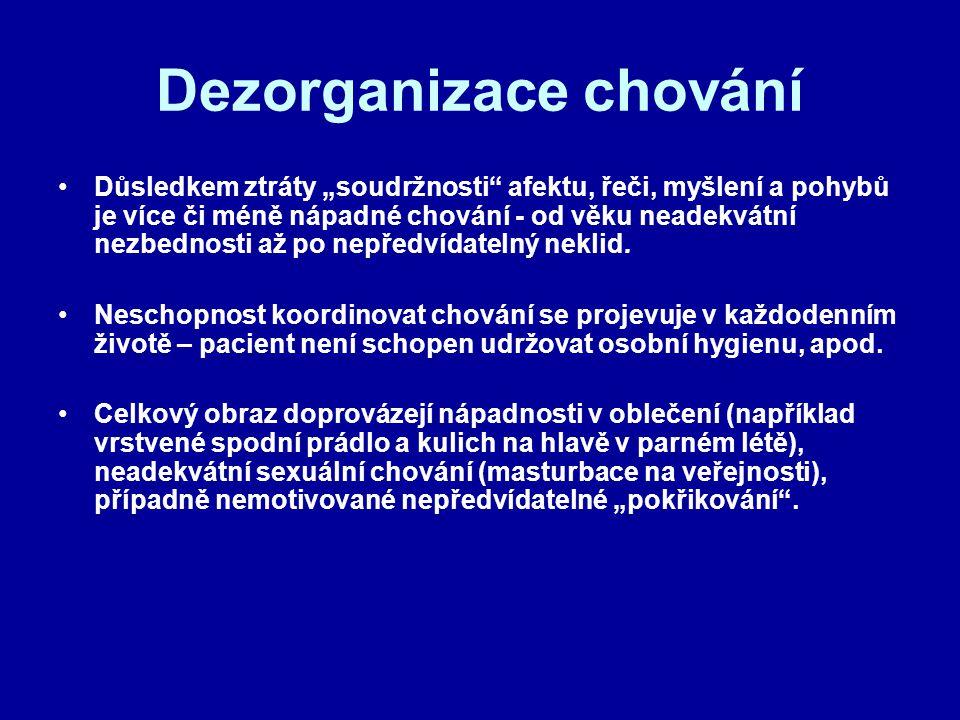 Dezorganizace chování