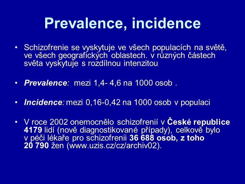 Prevalence, incidence