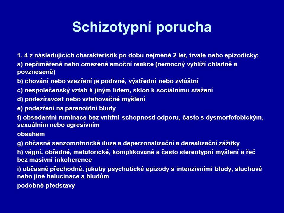 Schizotypní porucha