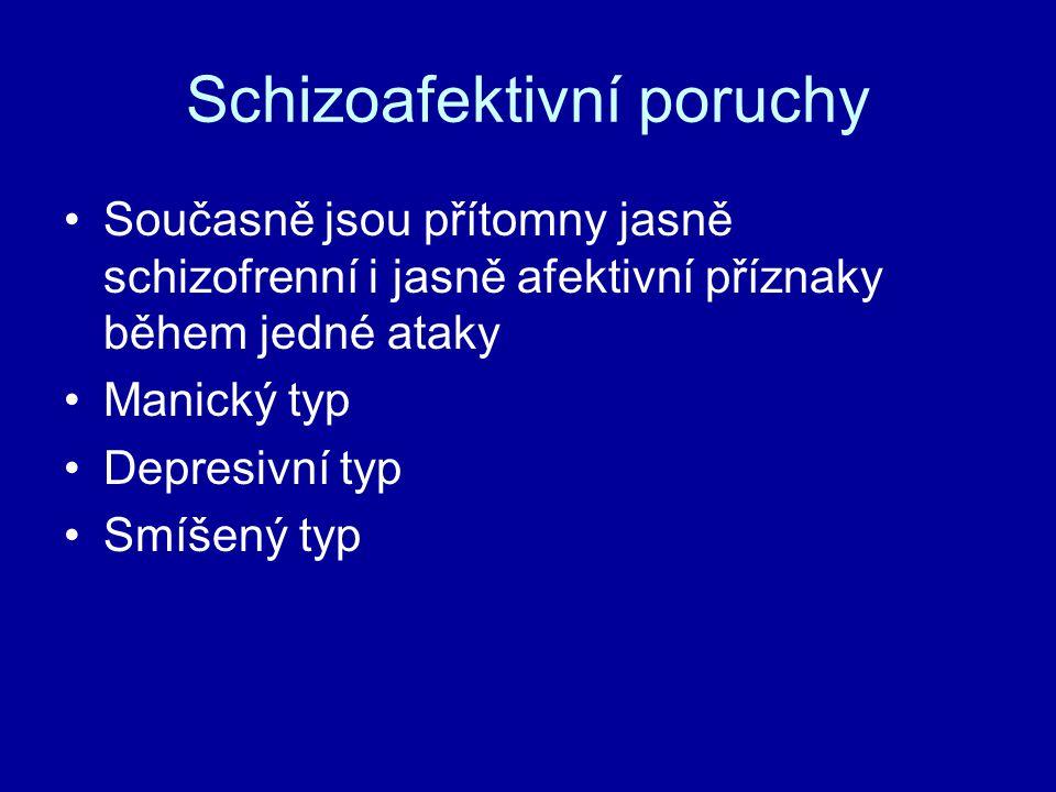 Schizoafektivní poruchy