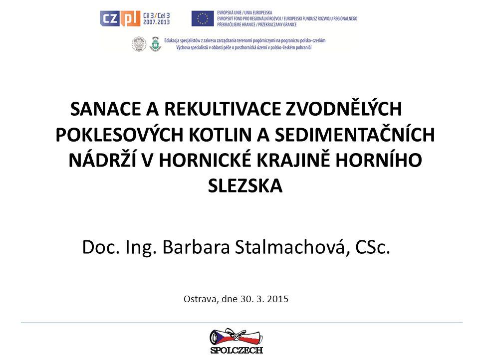 Doc. Ing. Barbara Stalmachová, CSc.