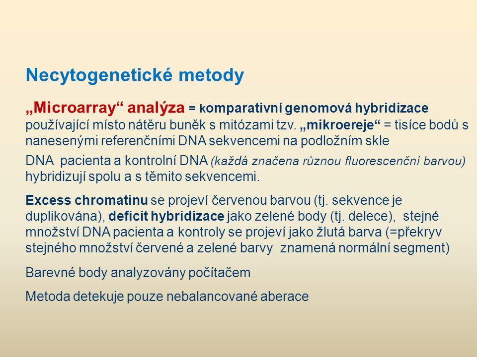 Necytogenetické metody