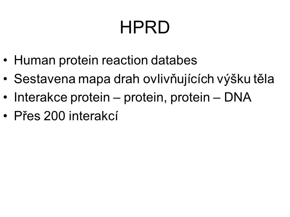 HPRD Human protein reaction databes