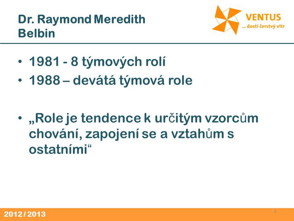 Dr. Raymond Meredith Belbin