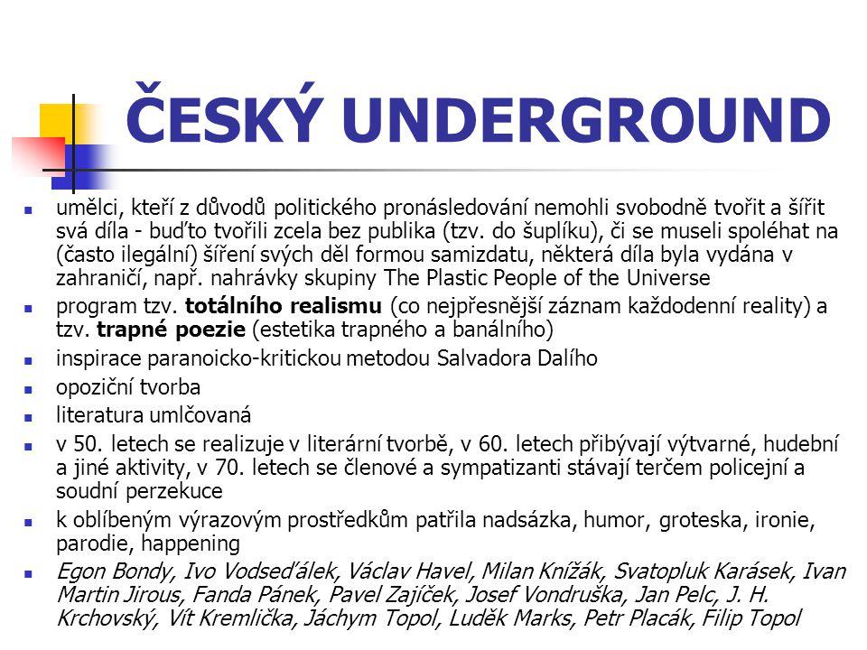 ČESKÝ UNDERGROUND