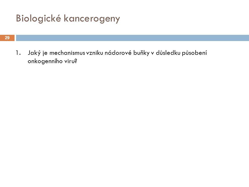 Biologické kancerogeny