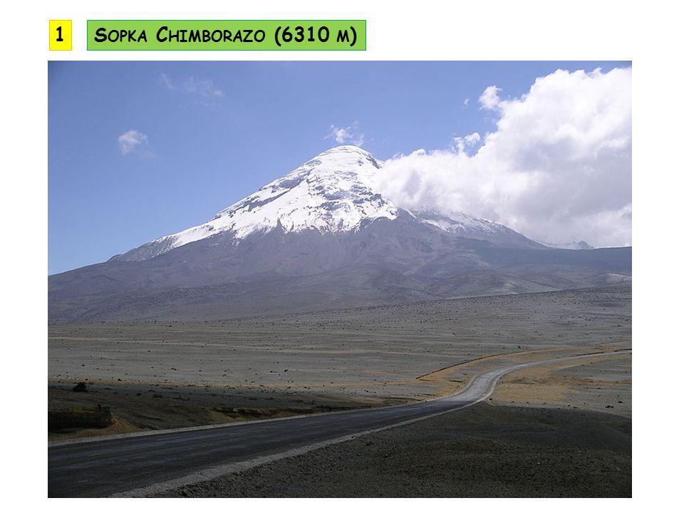 1 Sopka Chimborazo (6310 m)