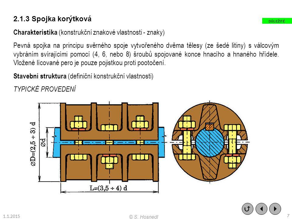 Charakteristika (konstrukční znakové vlastnosti - znaky)