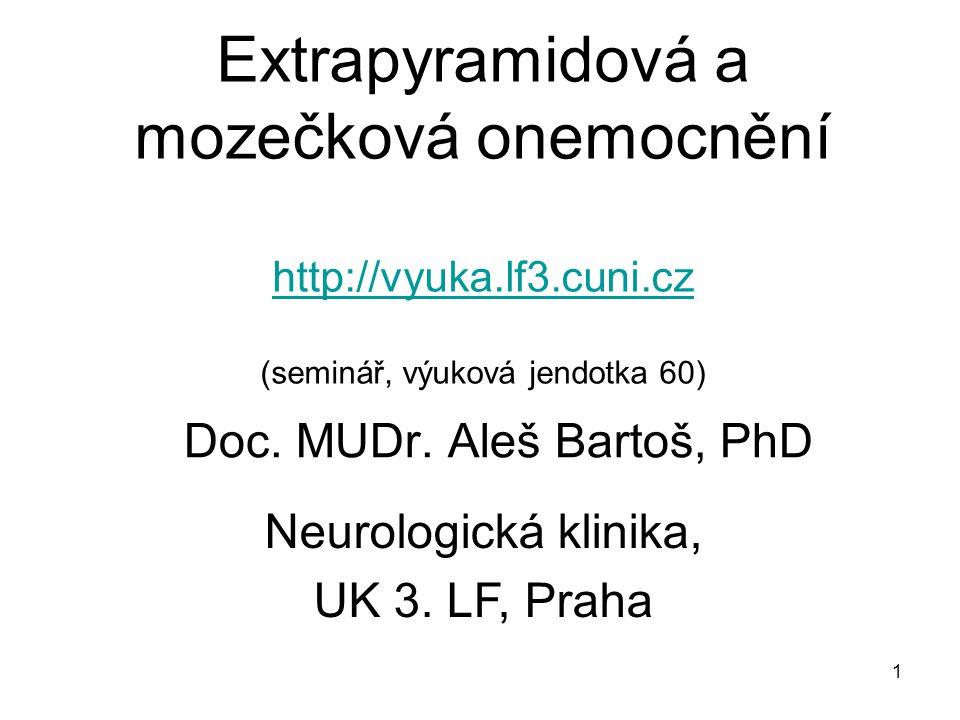 Doc. MUDr. Aleš Bartoš, PhD