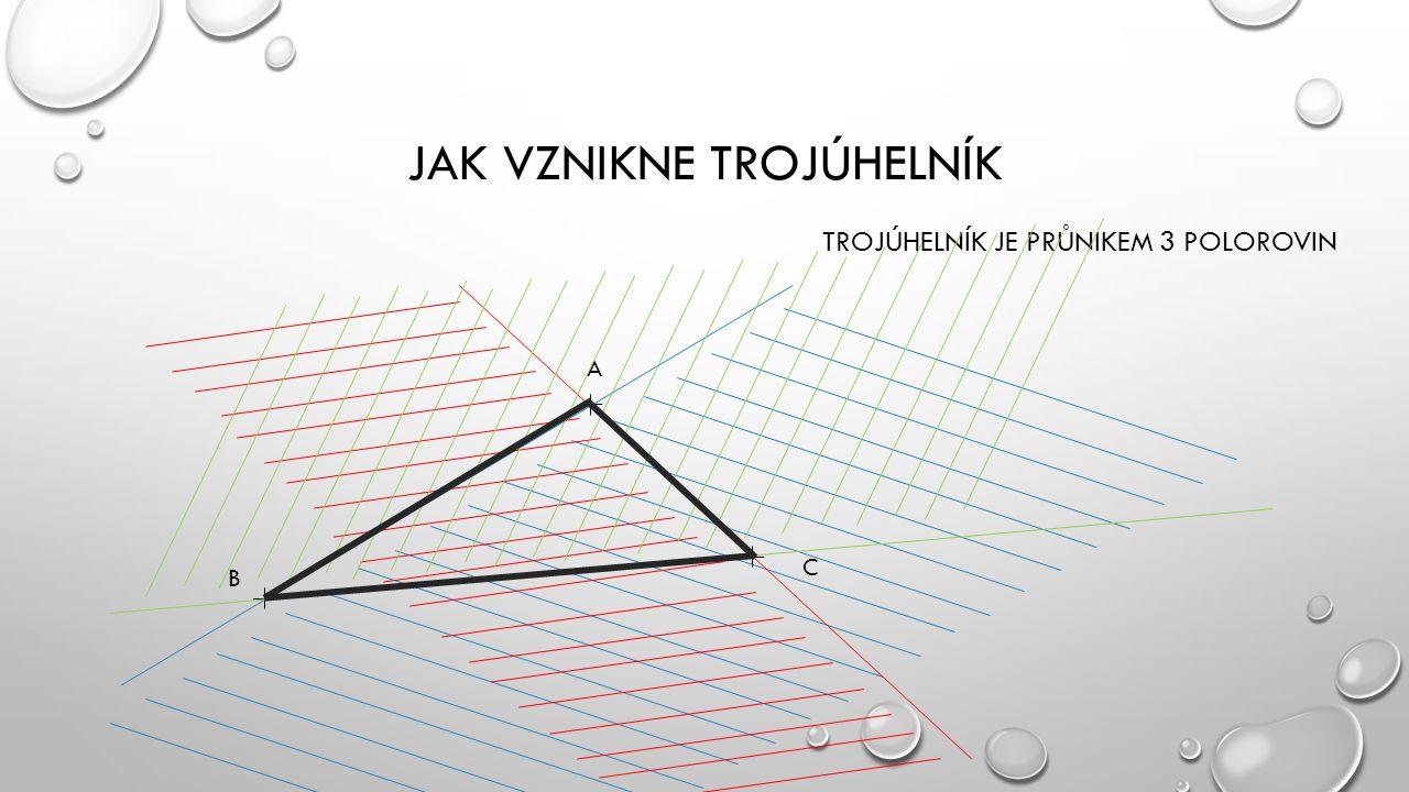 Jak vznikne trojúhelník