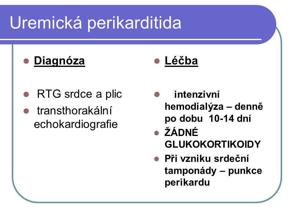 Uremická perikarditida