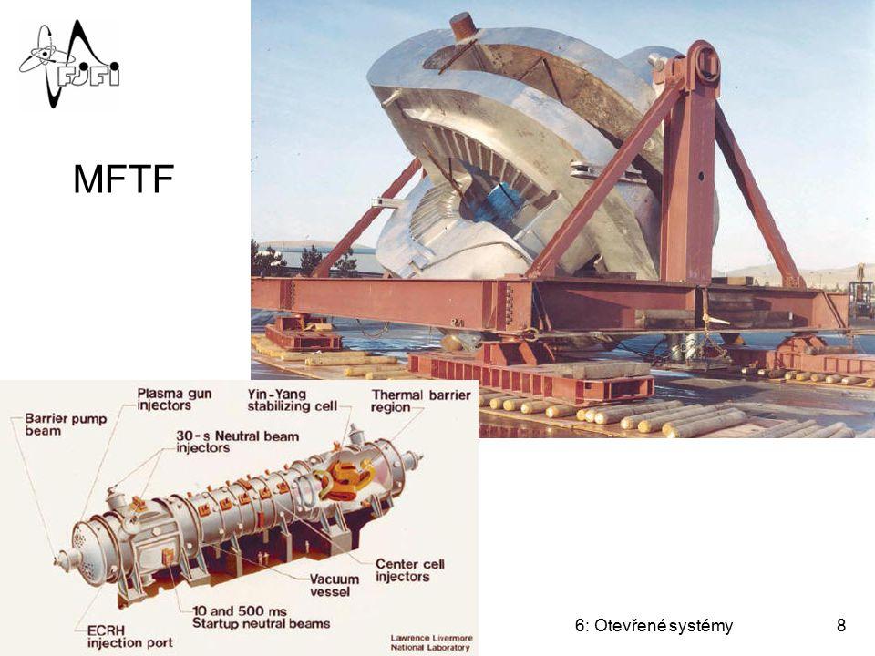 MFTF Úvod do termojaderné fúze 6: Otevřené systémy