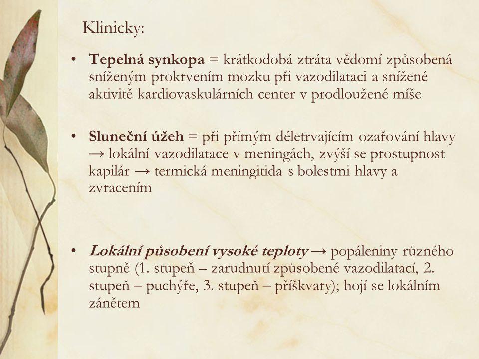 Klinicky: