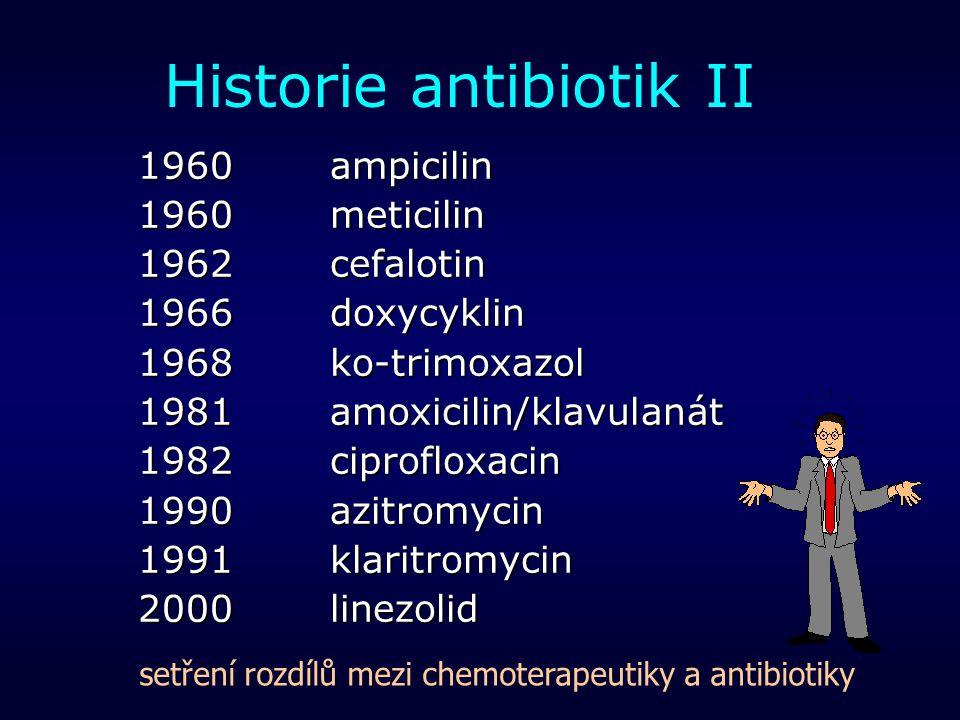 Historie antibiotik II