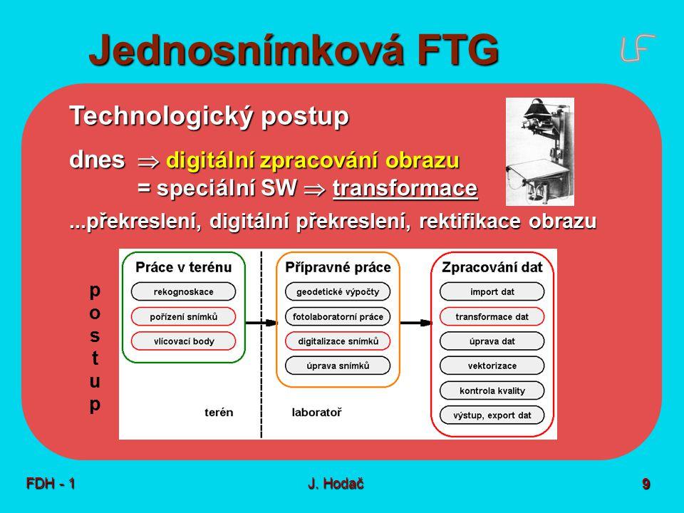 Průseková FTG - nejstarší fotogrammetrická metoda