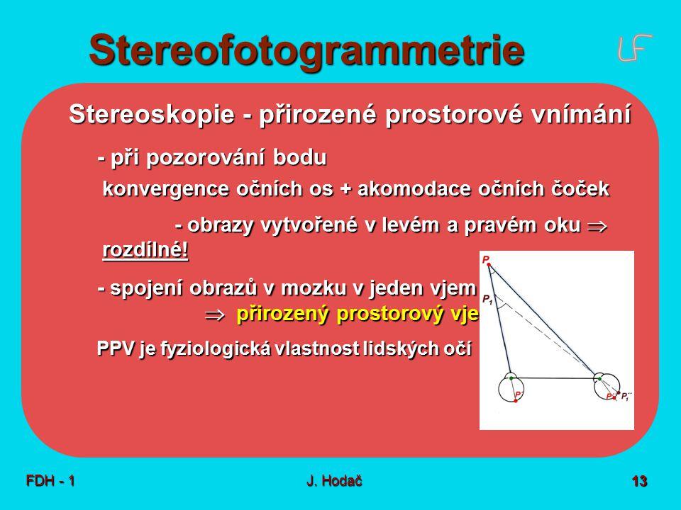 Stereofotogrammetrie