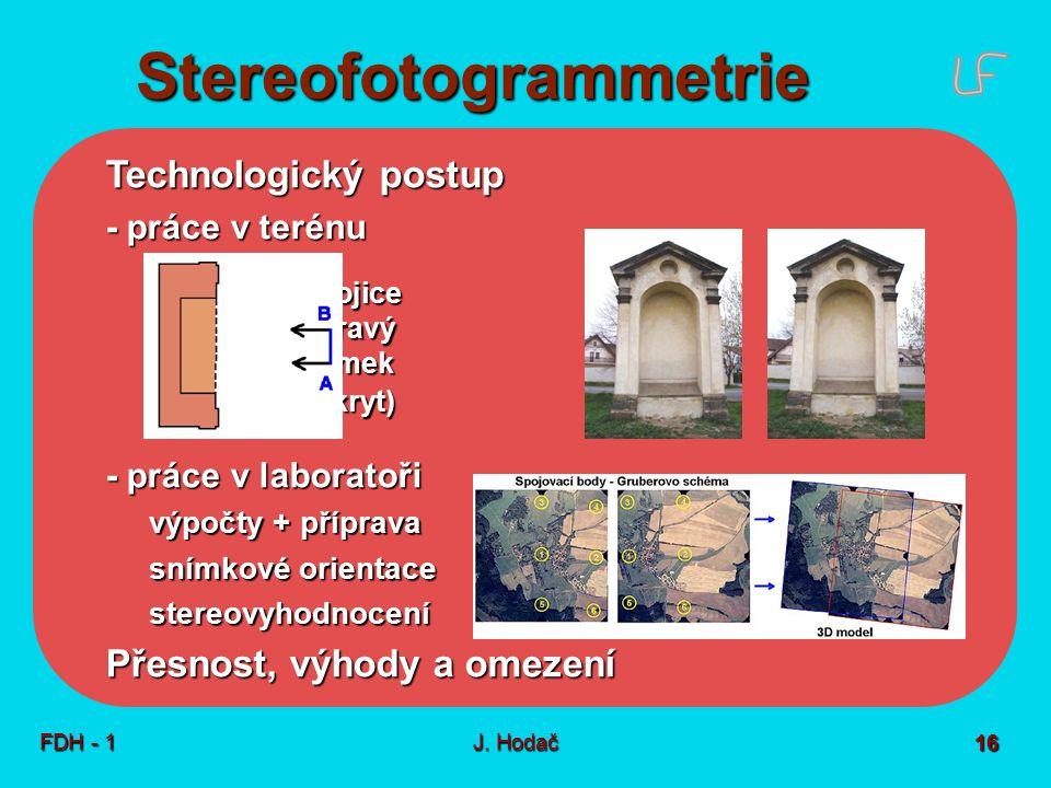 Jednoduchá fotogrammetrie