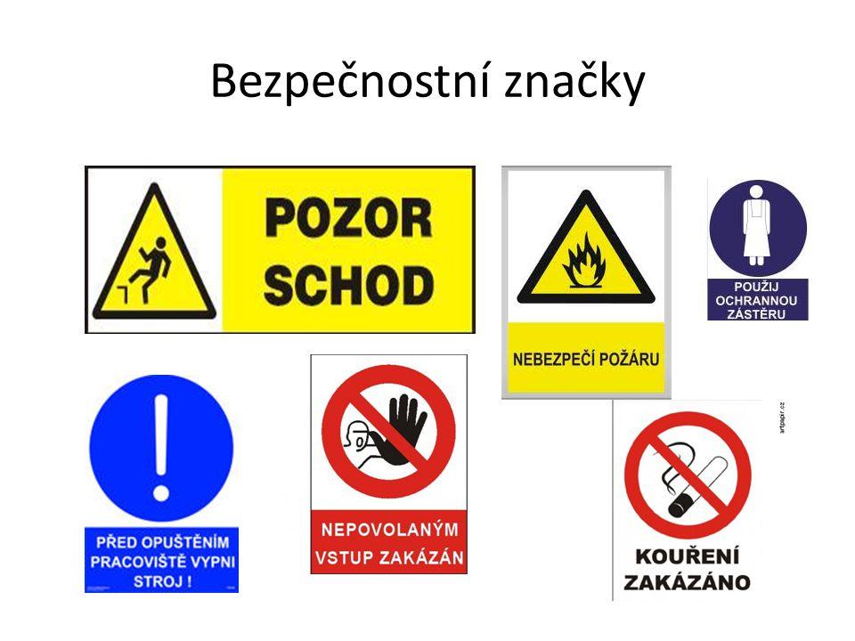 Bezpečnostní značky