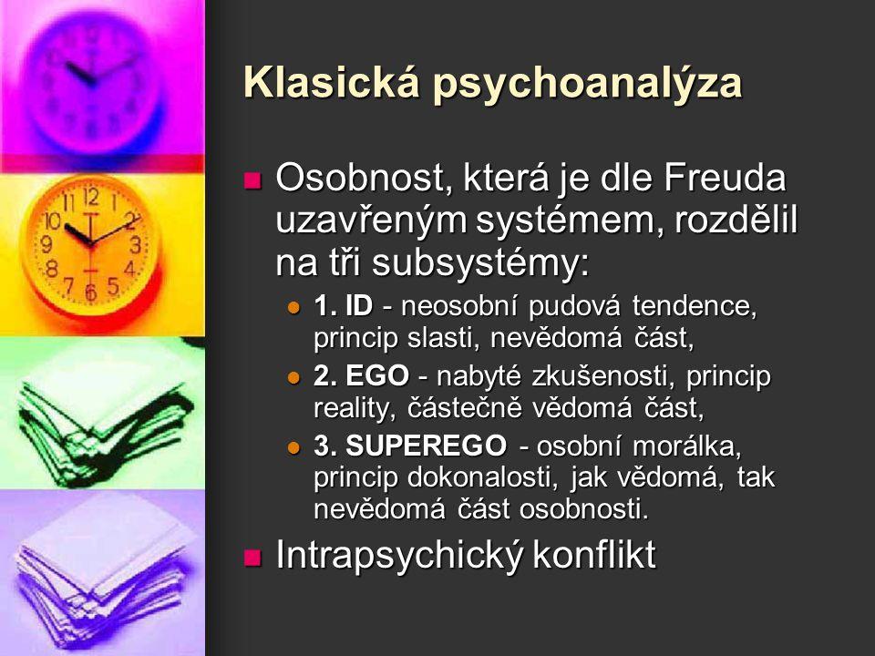 Klasická psychoanalýza