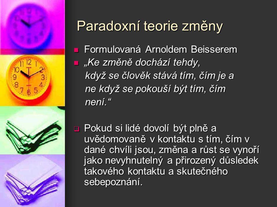 Paradoxní teorie změny