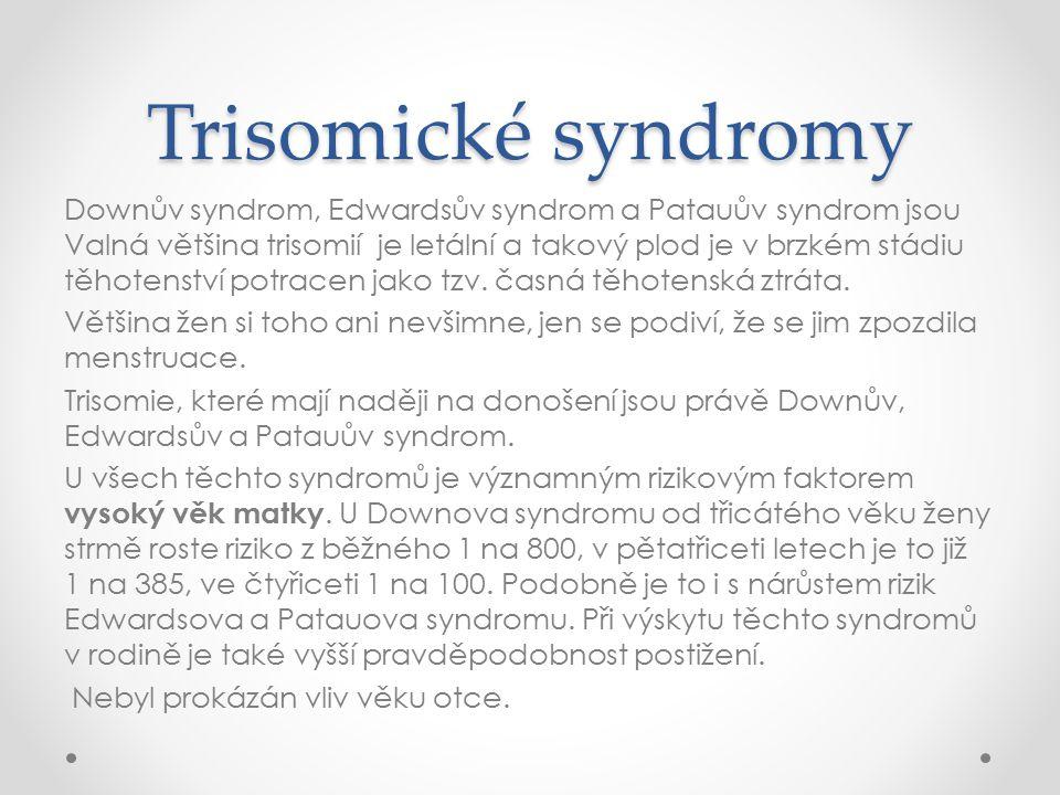 Trisomické syndromy