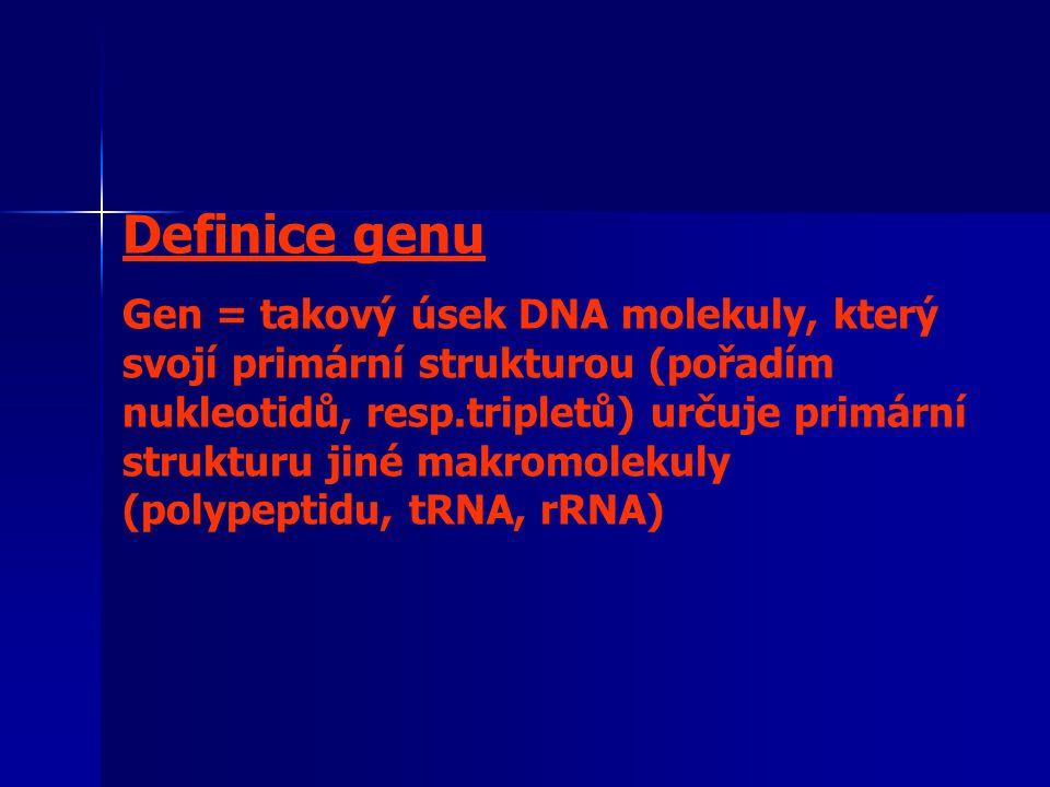 Definice genu