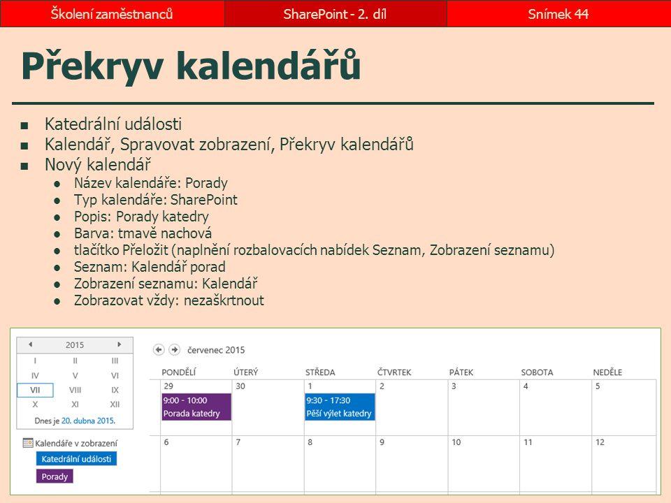 Překryv kalendářů Katedrální události