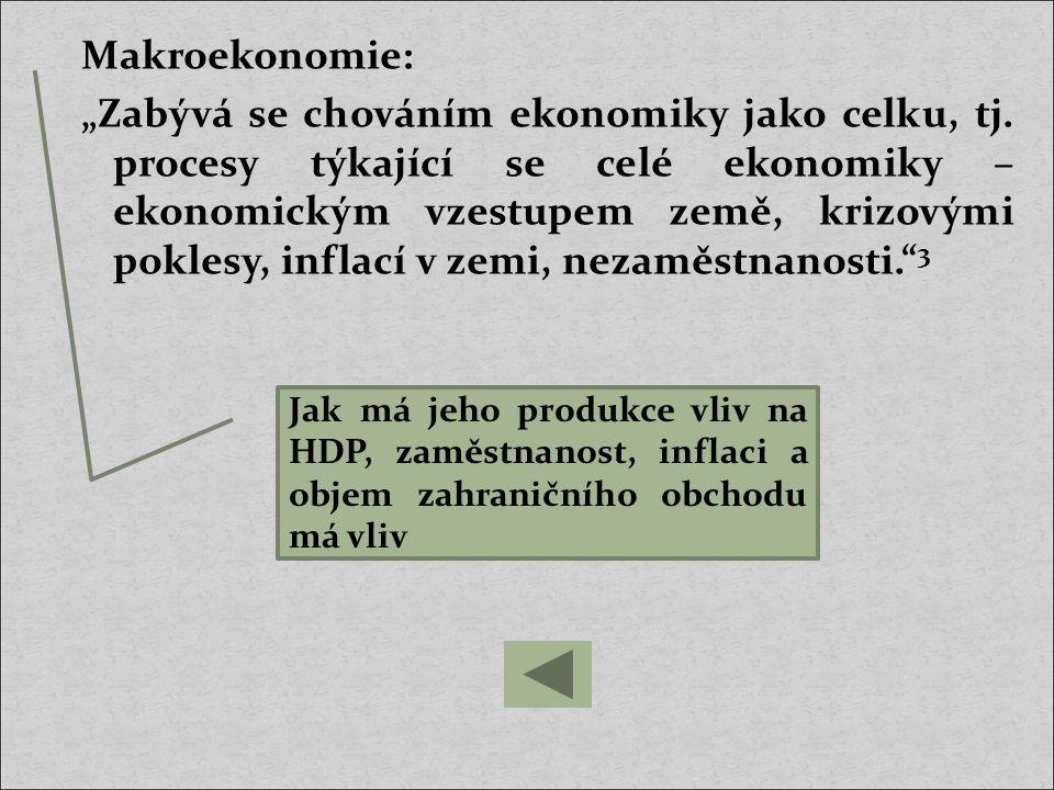 Makroekonomie:
