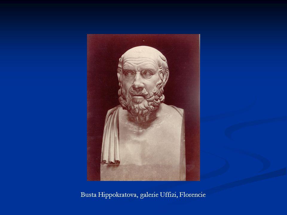Busta Hippokratova, galerie Uffizi, Florencie