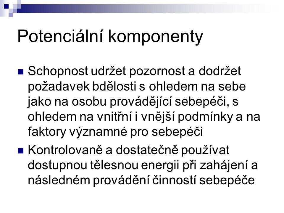 Potenciální komponenty