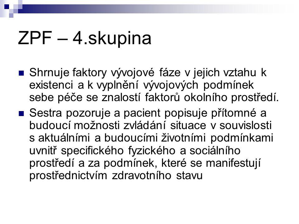 ZPF – 4.skupina