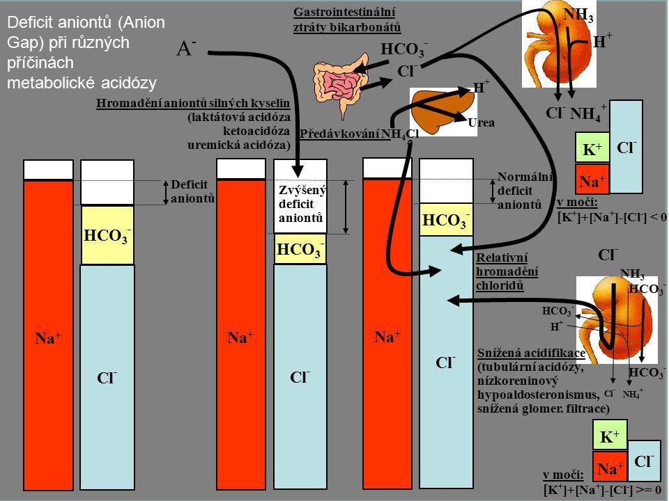 Gastrointestinální ztráty bikarbonátů