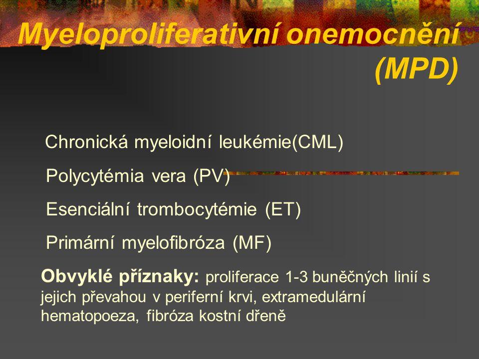 Myeloproliferativní onemocnění (MPD)