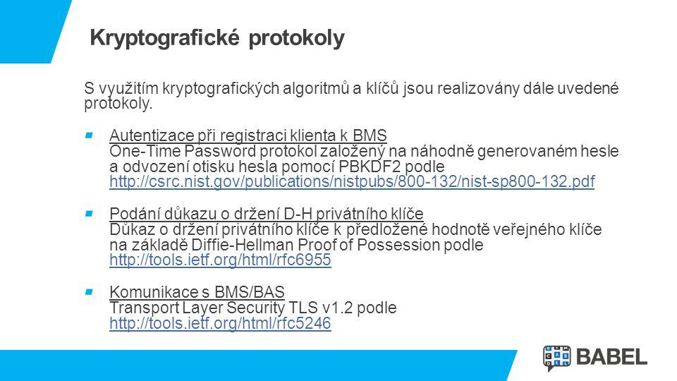 Kryptografické protokoly