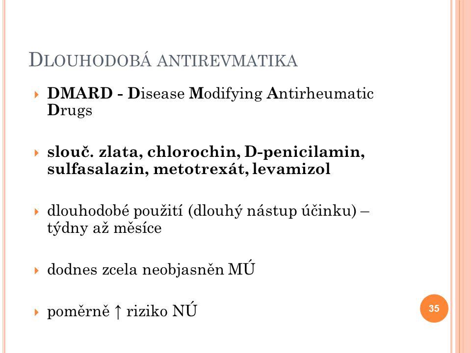 Dlouhodobá antirevmatika