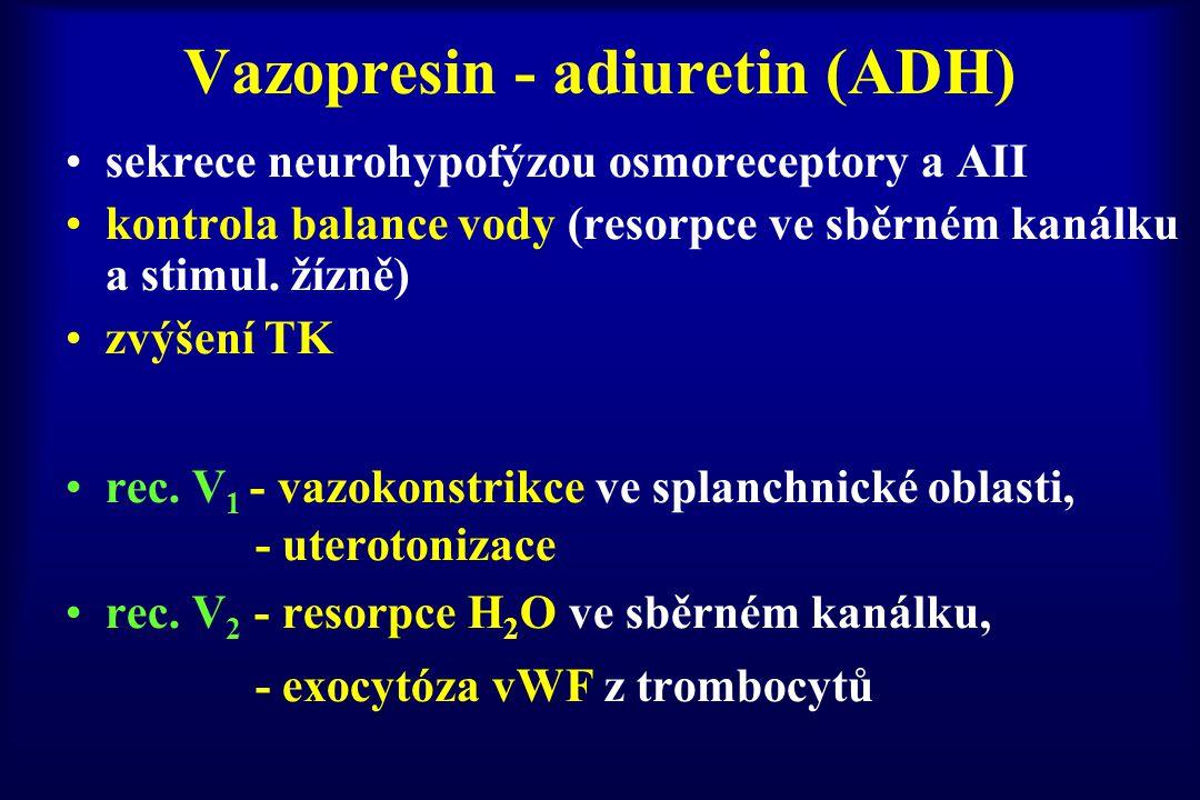 Vazopresin - adiuretin (ADH)