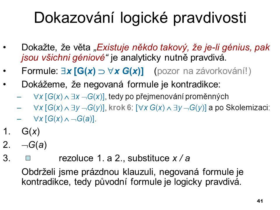 Dokazování logické pravdivosti