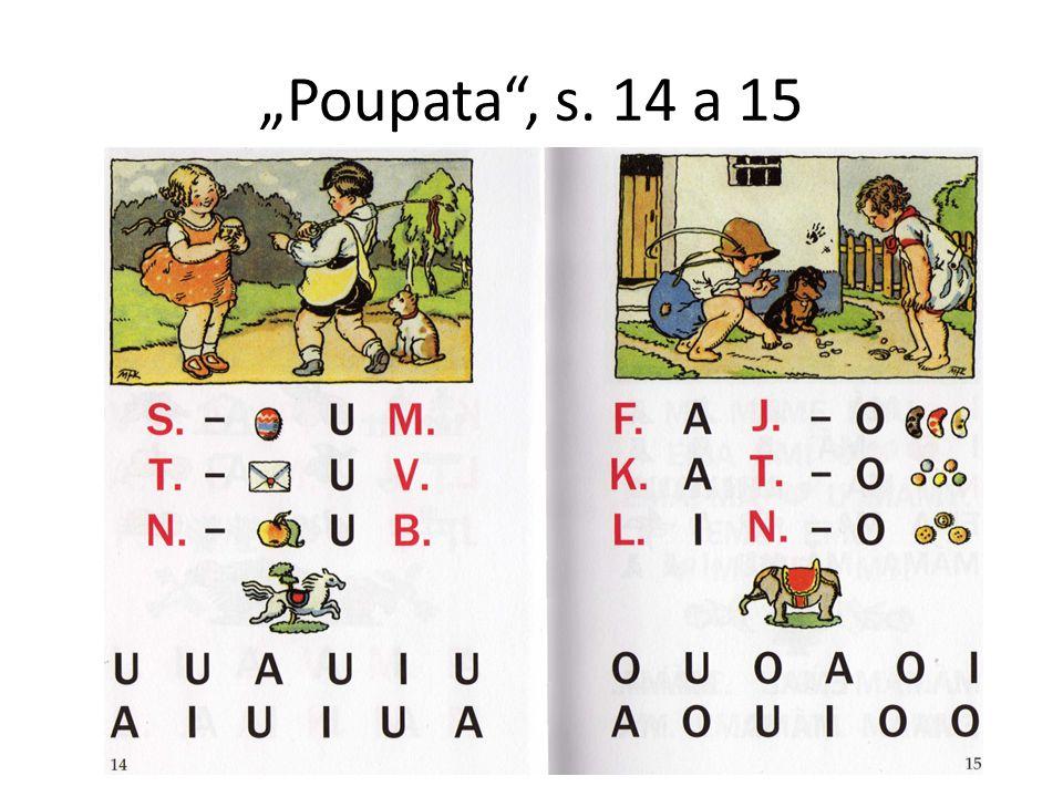 """""""Poupata , s. 14 a 15"""