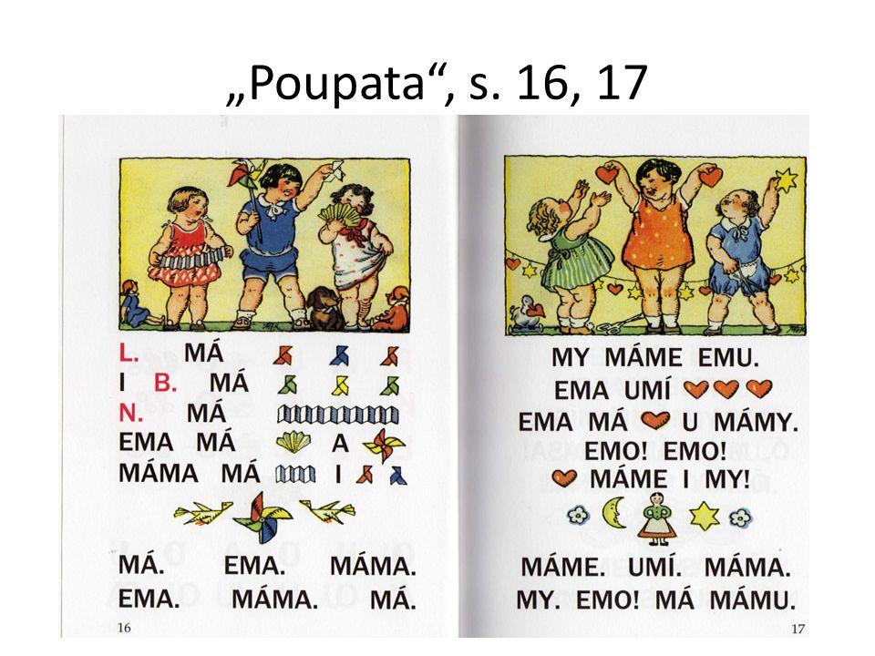 """""""Poupata , s. 16, 17"""