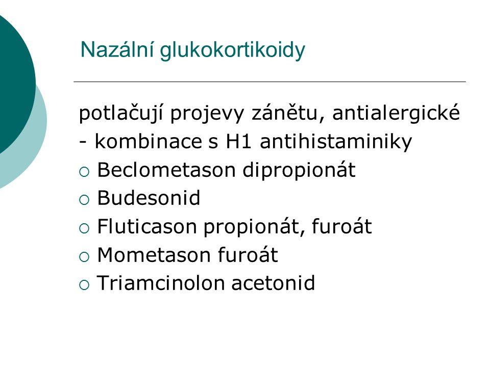 Nazální glukokortikoidy