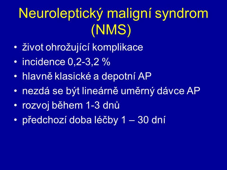 Neuroleptický maligní syndrom (NMS)