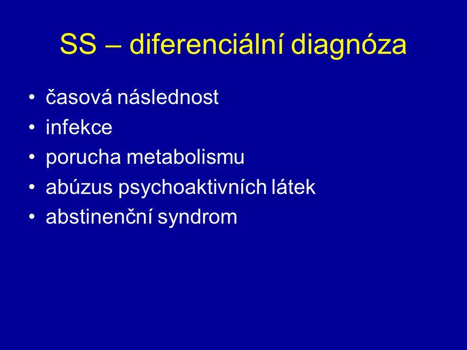 SS – diferenciální diagnóza