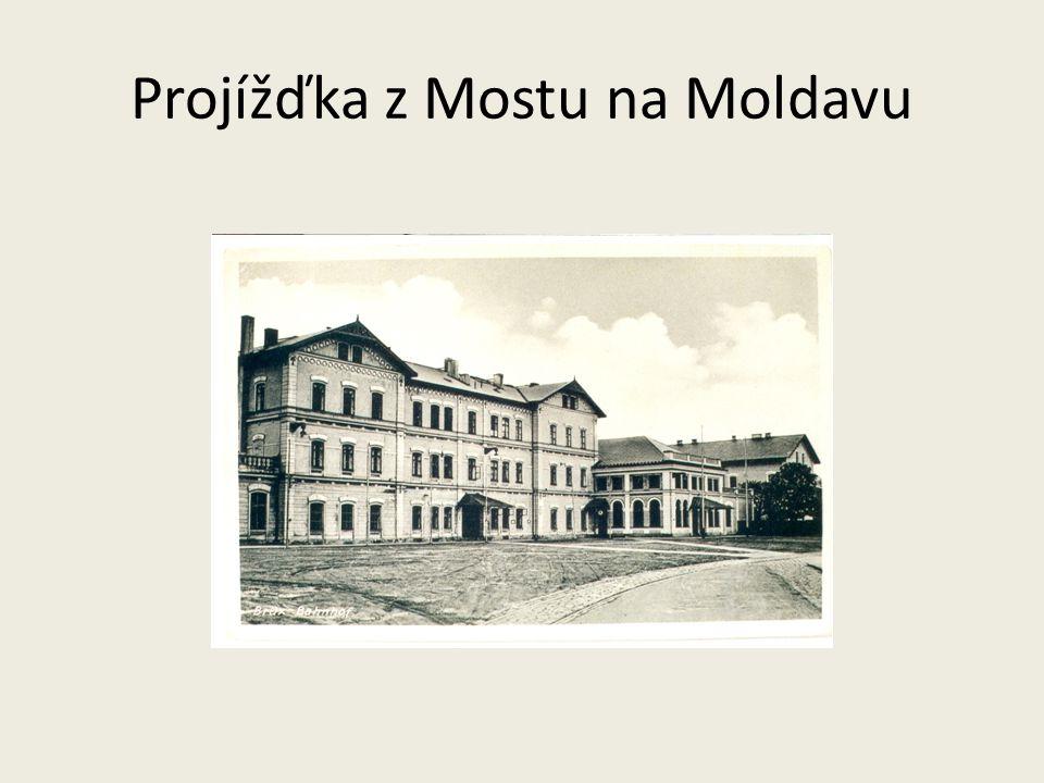Projížďka z Mostu na Moldavu