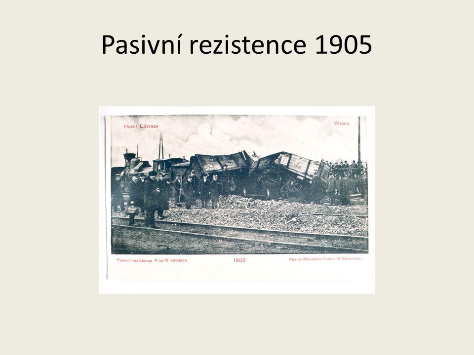 Pasivní rezistence 1905