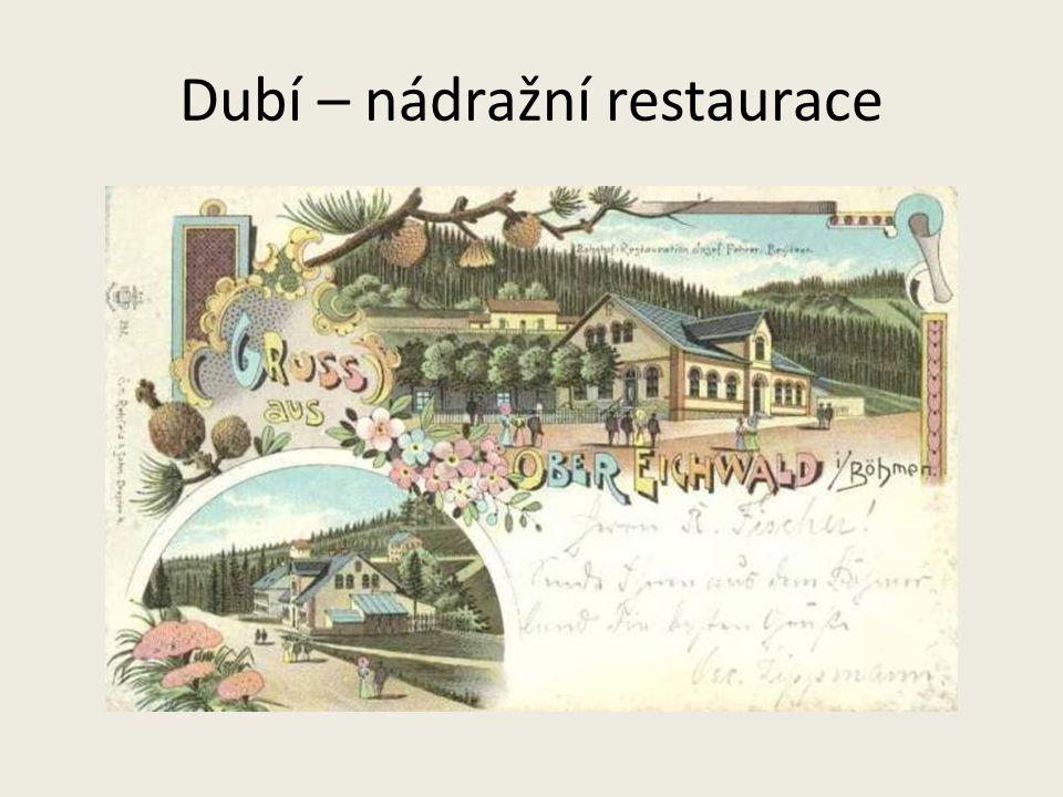Dubí – nádražní restaurace