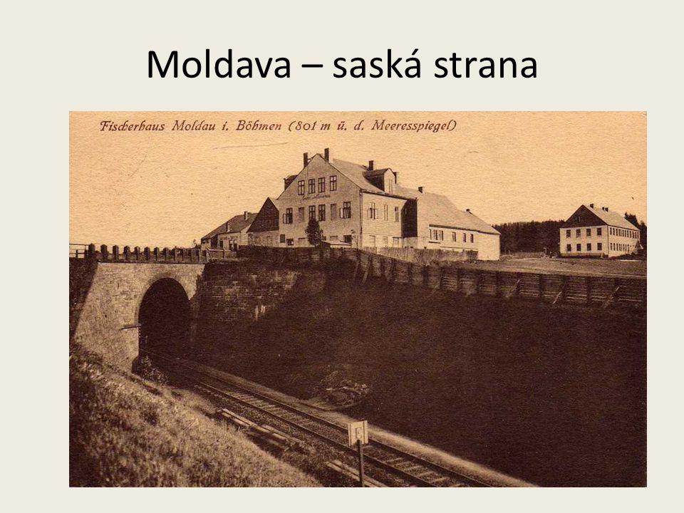 Moldava – saská strana
